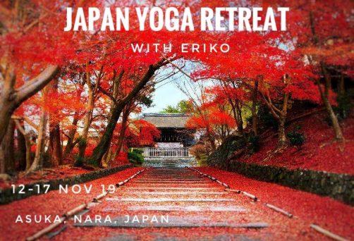 5 Day Yoga Retreat – Asuka, Nara, Japan